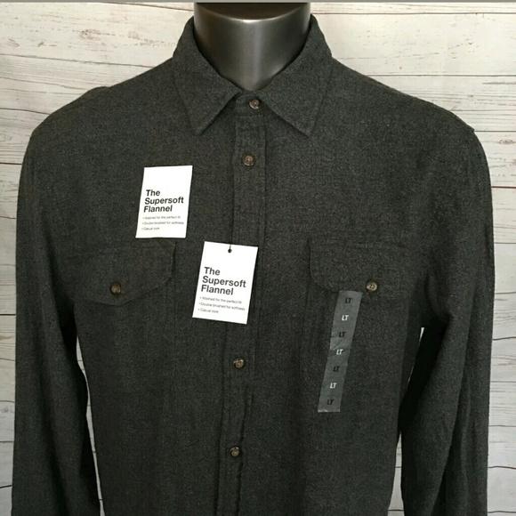 Mens SONOMA Super soft Gray Short Sleeve T-Shirt NEW Big /& Tall XLT